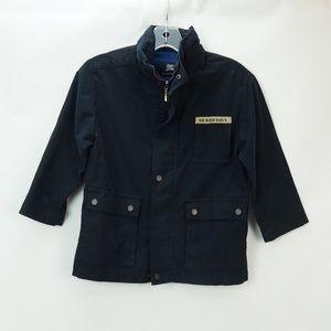 Burberry Navy Blue Jacket Kids 6